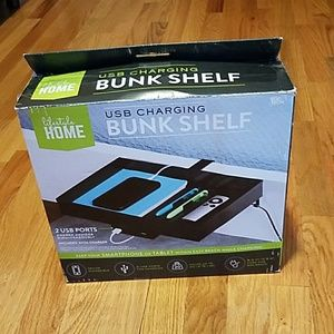 Lifestyle Home Metal SUB Charging Bunk Shelf